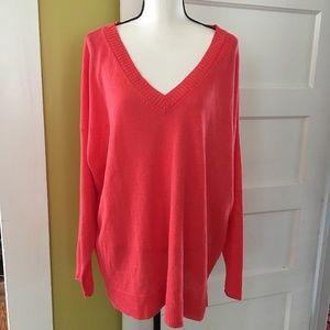 Eileen Fisher Organic Linen Sweater Tunic XL
